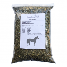 HERB MIX PONY OR HORSE `THIS IF FOR PONIES OR HORSES WITH A HEIGHT FROM 1.46 M UP TO 1.80 M OR WITH A WEIGHT UP TO 700 KG`